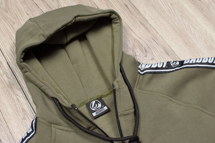 BAD BOY Stripes zaketa fouter- Khaki