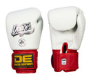 Danger Classic Muay Thai Gloves-White/red