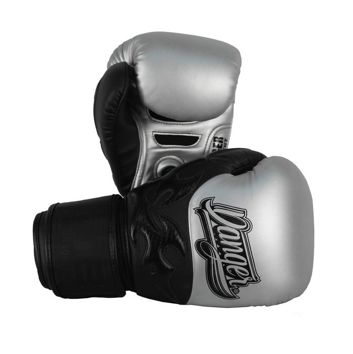 Danger Evolution SAK MUAY Boxing Gloves-silver
