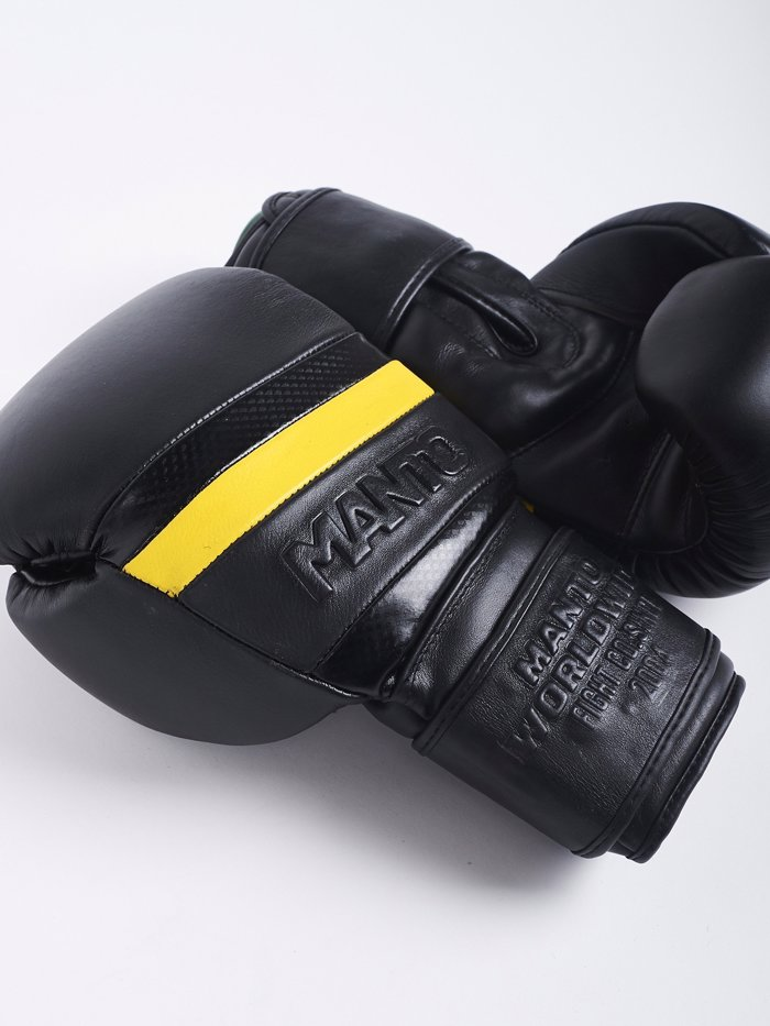 MANTO BOXING GLOVES CARBON-black