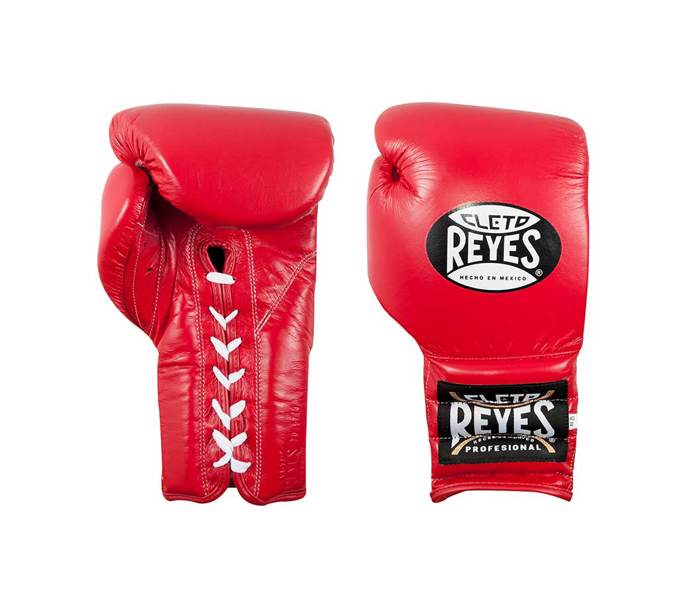 Cleto Reyes LACES Sparring  boxing gloves – Red