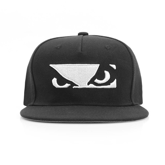 BAD BOY Stand Out Snapback Hat Black
