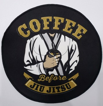 Chosen coffee Jiu Jitsu Patch