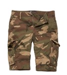 Vintage Industries Rowing Cargo Shorts-WOODLAND