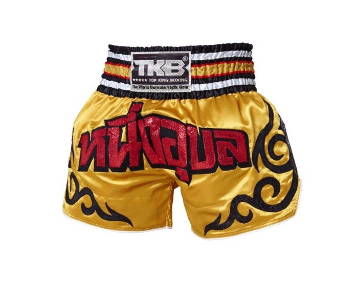 Top King Tribal Gold/Red Shorts