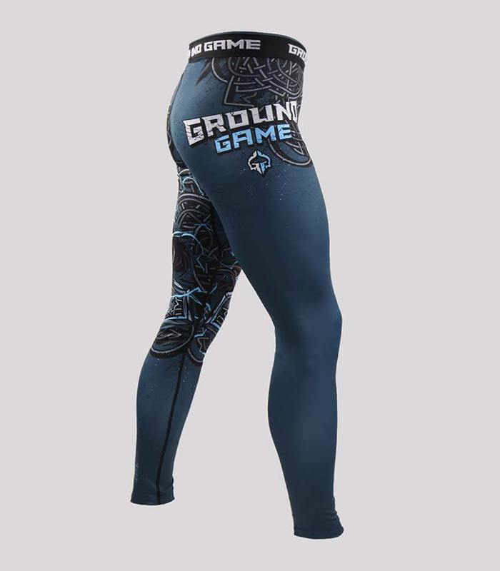 GroundGame GRAPPLING NOGI SPATS THOR - BLACK