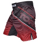 Torque Red Fortress Fightshorts
