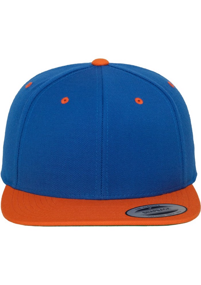 CLASSIC SNAPBACK 2TONE -Blue/Orange