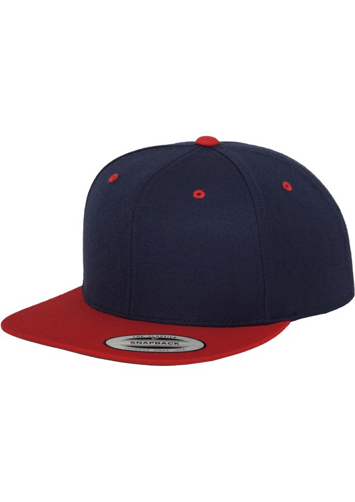 CLASSIC SNAPBACK 2TONE -NAvy/red